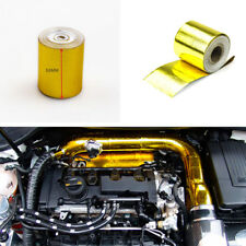 5CM X 5M Roll Gold High Performance Reflective Heat Protection Tape Turbo Engine