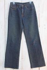Talbots Women's Stretch Blue Jeans Straight Leg Size 6