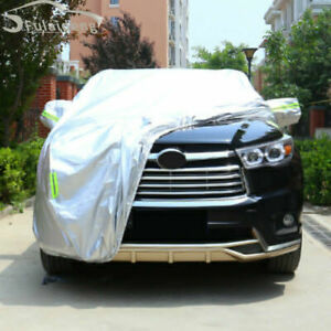 For Toyota Highlander Car Cover Waterproof Rain/UV/Dust Resistant Weather Proof