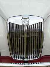 MG Bonnet 2738 Grille Real Photo A4 Metal Sign Aluminium