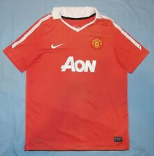 Manchester Utd / ROONEY #10 2010-2011 Home - NIKE JUNIOR Shirt / Jersey. 13-15y