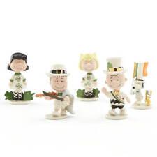 Lenox Peanuts St Patrick's Day Figurines Saint Lucky Irish Charlie Brown NEW
