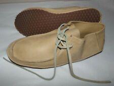 NWOT Mens Vans Rata Skate / Surf Shoes~LEATHER~Tan~SZ 10.5