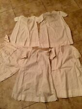 ANTIQUE VINTAGE BABY DRESS GOWNS Group Of 5