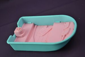Fisher Price LOVING FAMILY RV BOAT Fishing Replacement Pink/Blue 1990's