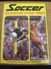 1981 Football Book: Soccer Superstars, Illustrated In Full Colour Throughout [Ha