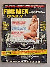 For Men Only Magazine -Oct 1973 V20 N10 - Men's Adventure