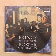 """PRINCE & THE NPG Thunder UK 12"""" picture disc with card insert 1991"""