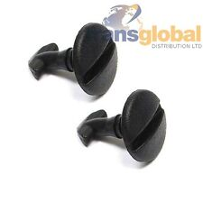 Land Rover Discovery 3 Towbar Electrics Cover Clips Black Screws x2 - Bearmach