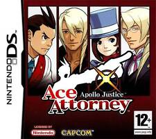 Ace Attorney Apollo Justice PAL ITA Nintendo DS
