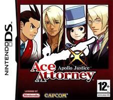Ace Attorney Apollo Justice RARISSIMO! NINTENDO DS PAL ITA NUOVO SIGILLATO