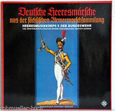 """12"""" Vinyl DEUTSCHE HEERESMÄRSCHE - Heeresmusikkorps 5 der Bundeswehr"""