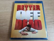 Better Off Dead. (1985) (Blu-ray Disc) John Cusack Mint