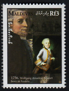 MALEDIVEN 2000, Mozart, postfrisch