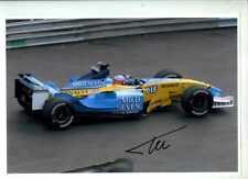 Fernando Alonso Renault R23 Grand Prix de Mónaco 2003 Foto Autografiada