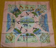 HERMES TANZANIE UNWORN Rare 1997 90cm Silk Scarf