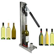 New listing Stainless Steel Manual Wine Bottle Corking Machine Hand Pressure Corker 2 Heads