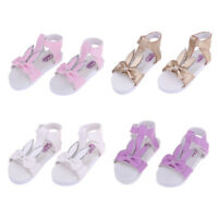 Cute 1/3 BJD Ankle Strape Shoes Sandals For Dollfie Summer Outfit Accessory