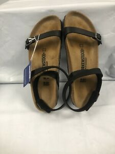 Birkenstock Daloa Black Ankle Strap Sandals #1005940 M/6, W/8 NARROW
