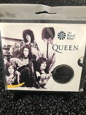 More details for royal mint queen 2020 uk £5 brilliant uncirculated coin music legends series