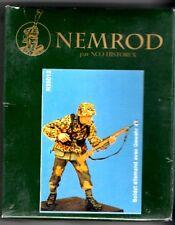 HISTOREX/NEMROD N35012 - SOLDAT ALLEMAND AVEC GEWEHR 1943 - 1/35 RESIN KIT