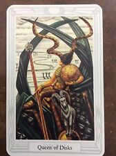 Aleister Crowley Thoth Tarot Small Deck Queen Of Disks INDIVIDUAL CARD Magik