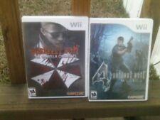 Resident Evil 4 & Resident Evil: The Umbrella Chronicles bundle Nintendo Wii com