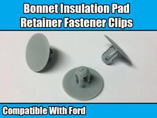 20x Clip for Ford KA Focus Escort Fiesta MK6 Mondeo MK3 Bonnet Insulation Lining