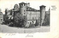 Cartolina Torino Palazzo Madama 1909