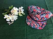 NWT BRIXTON WOMEN'S MULTI-COLOR RED PRINTED ADJUSTABLE CAP