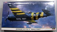 Hasegawa 1/72 Avenger A.S. MK.IV ROYAL NAVY 00769 SEALED