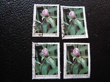 COTE D IVOIRE - timbre yvert/tellier n° 759 x4 obl (A28) stamp (R)