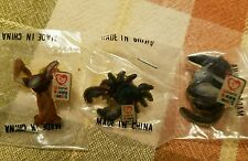 Ty Beanie Babies 3 pin set Group Ii Stretch Ostrich, Claude Crab, Ants Anteater