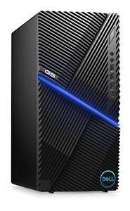 New Dell G5 Gaming Desktop 10th Gen i7-10700F Processor, 16GB Ram, 1TB HD