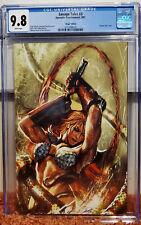 Savage Tales #3 (2007, Dynamite) CGC 9.8 NM/MT Sejic Virgin Variant Red Sonja