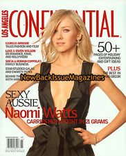 Los Angeles Confidential 11/03,Naomi Watts,King Kong,November 2003