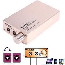 Portable HIFI AUDIO STEREO SPEAKER Earphone Headphone AMPLIFIER USB Rechargeable