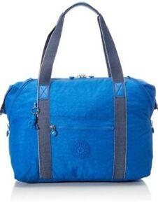 Kipling Art M Wave blue Weekender Gym bag large Shopper Rrp£96