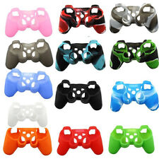 Silicone Case Skin Grip Rubber Cover Protector for Playstation 3 PS3 Controller