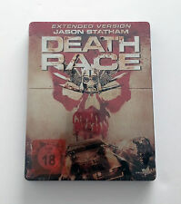 Death Race Blu-ray Movie Steelbook Extended Edition Version Region B Cars Action