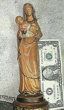 """Anri Italy Figurine 8 1/2"""" Madonna With Child Mother & Child"""