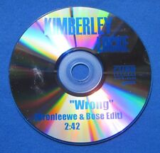 Kimberley Locke Wrong 1 Mix CD Promo Bronleewe & Bose Edit 2004