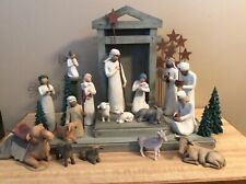 Willow Tree Nativity Set 24 Pieces
