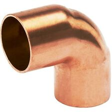 "(Bag of 10) 1"" Copper Fitting 90 Degree Sweat Elbow CxC"