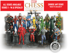 EAGLEMOSS MARVEL CHESS COLLECTION - MODEL & MAGAZINE & SPECIALS - NEW