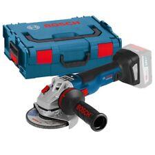 6670 - Amoladora angular a batería BOSCH GWS 18V-125 C sin batería en L-BOXX