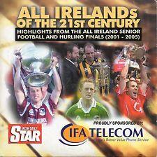 GAA - ALL IRELANDS OF THE 21ST CENTURY - HIGHLIGHTS 2001-2005 DVD