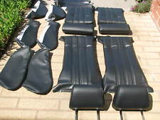 BMW E30 325i 318i 325is SPORT SEATS BLACK GERMAN VINYL UPHOLSTERY KITS BEAUTIFUL