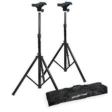 2 x Speaker Stands & Top Brackets & Carry Bag to suit Yamaha Stagepas 300