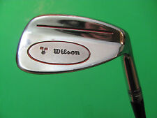 "35 1/2"" Wilson Dual Wedge. Leather Wrap Grip. Stepped Steel Shaft."